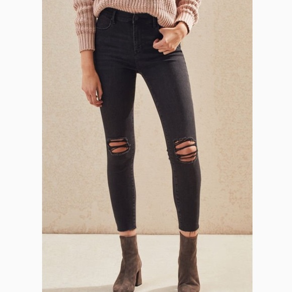 sophisticated technologies top-rated professional presenting American eagle black ripped jeans